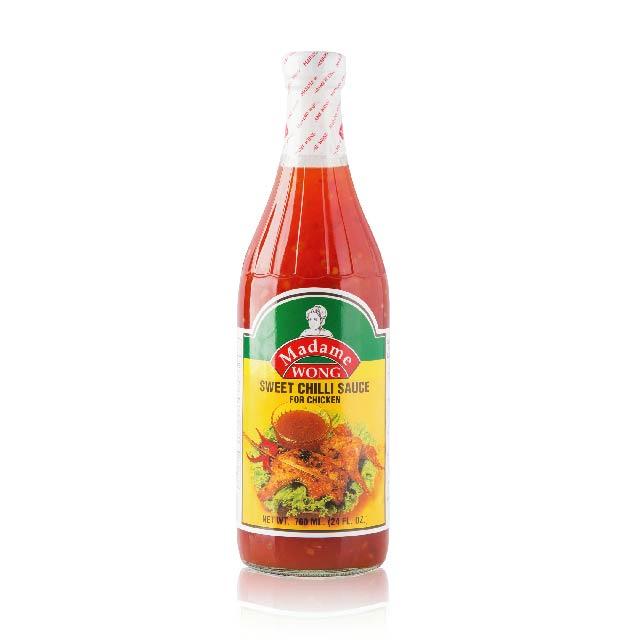 Sweet Chilli Sauce For Chicken Without Garlic 700ml Madam Wong